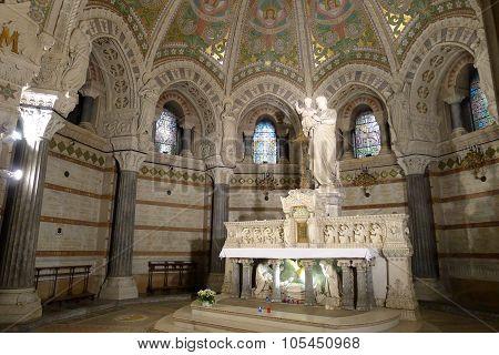 Lower Sanctuary of Basilica of Notre-Dame de Fourvière