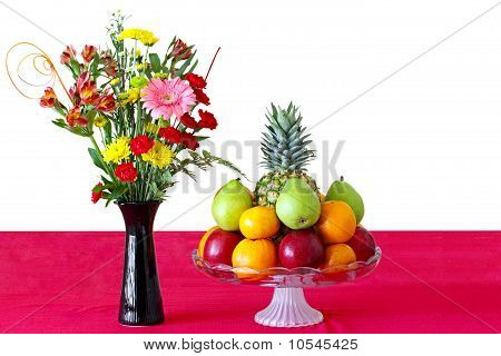 Flower And Fruits