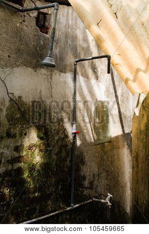 Makeshift Shower