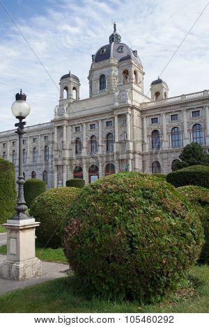 Historic Art Museum In Vienna