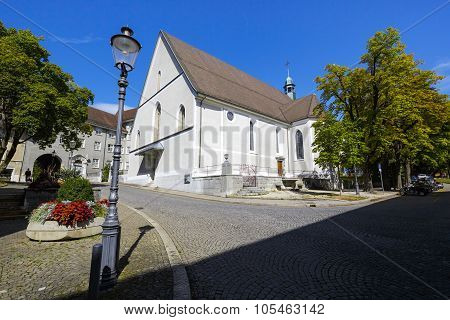 Franciscan Church In Solothurn