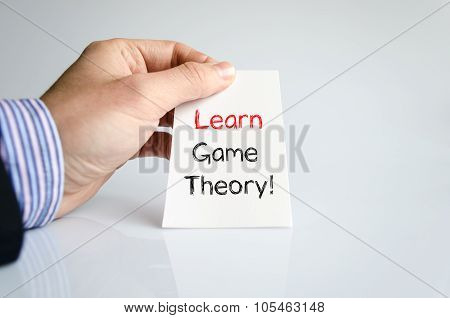 Learn Game Theory Text Concept