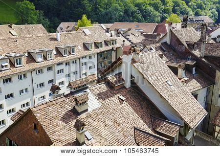 Roofs Of The City Of Bern