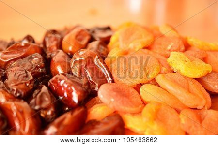 Dates And Dried Apricots