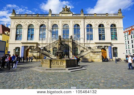 The Johanneum In Dresden