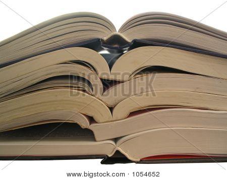 Bücher-Stapel