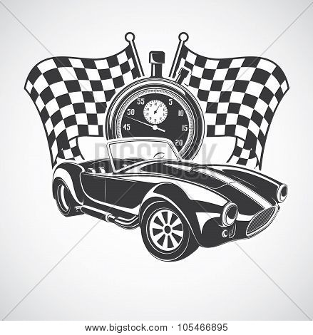 racing Car cobra