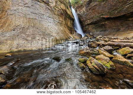 Miners Falls At Pictured Rocks National Lakeshore - Upper Peninsula Of Michigan