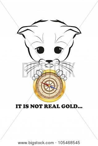 Totono and fake golden compass