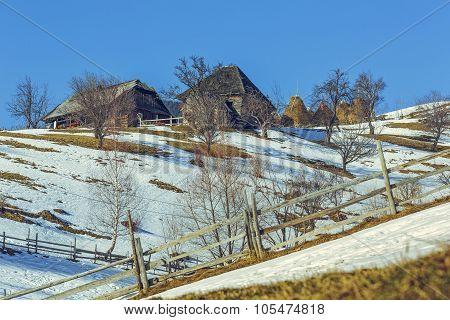Romanian Rural Landscape