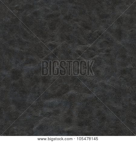Natural brown leather texture for background