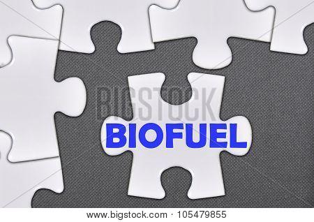 Jigsaw Puzzle Written Word Biofuel