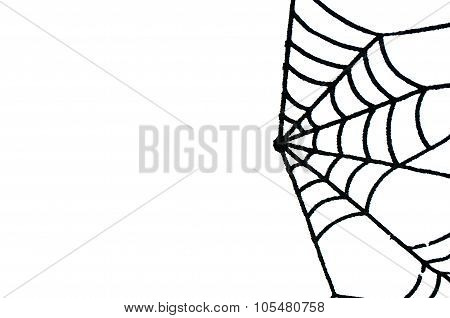 Halloween Minimalism Background With Copy Space Isolated