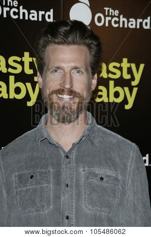 LOS ANGELES - OCT 19: Josh Meyers at the Premiere of Nasty Baby at ArcLight Cinemas on October 19, 2015 in Los Angeles, California.