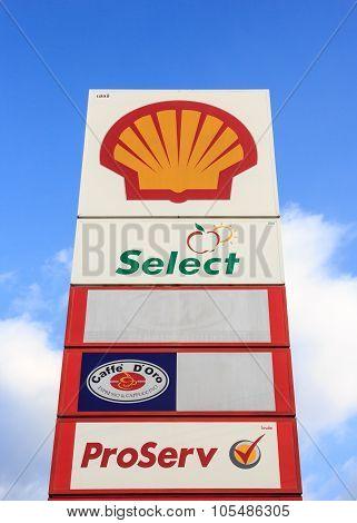 Shell Petrol, Thailand
