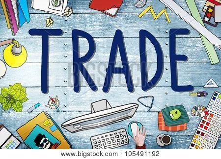 Trade Commerce Exchange Negotiation Economic Concept