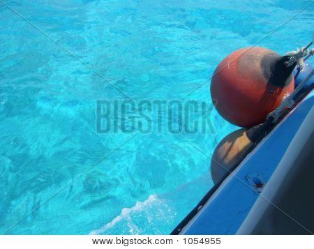 Waters Near The Cozumel Island