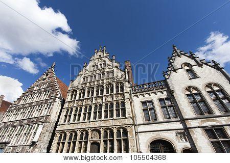 Facade Of Historic Buildings