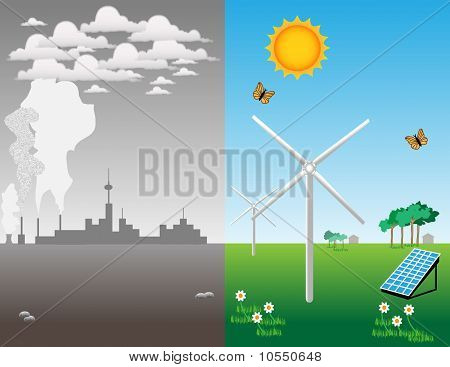 The advantage of renewable energy