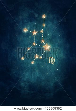 Vigro astrological sign in the Zodiac