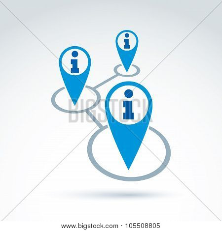 Social Information Collecting And Exchange Theme Icon, Social Media, Vector Conceptual Unusual Symbo