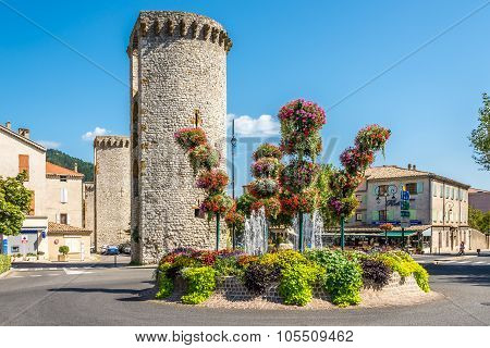 Stone Bastions In Sisteron