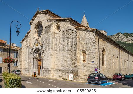Cathedral Notre Dame Des Pommiers Of Sisteron