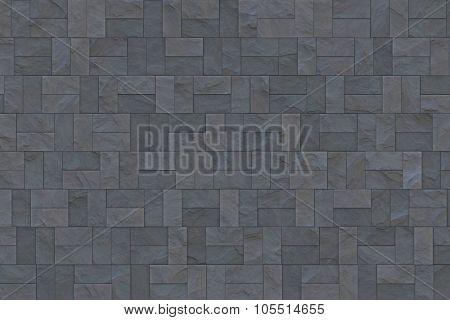 Walkway cobblestone tiling cobbled road texture.