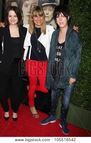 LOS ANGELES - OCT 20:  Joey King, Catherine Hardwick, Diane Warren at the