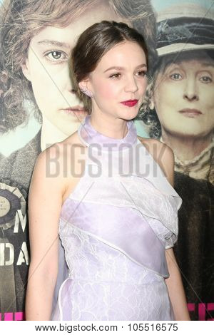 LOS ANGELES - OCT 20:  Carey Mulligan at the