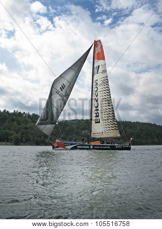 Team Ericsson sail