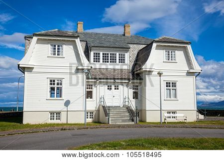 The Hofdi House, one of the most beautiful and historically significant buildings in Reykjavik