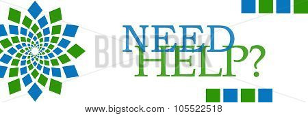 Need Help Green Blue Element Horizontal