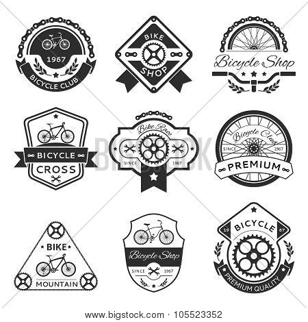 Bicycle labels
