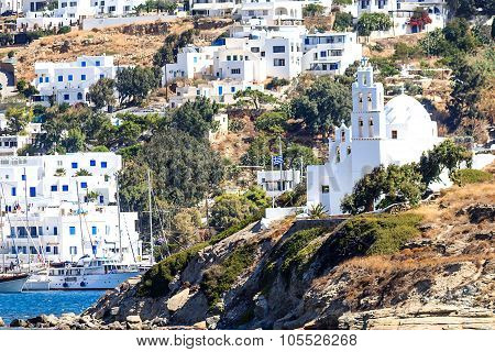 Cycladic village Ios, Greece
