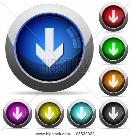 Down Arrow Button Set