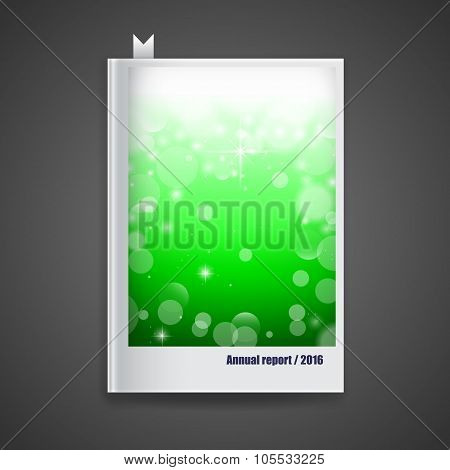 Cover Annual Report,2016. Modern Vector Abstract Brochure,report Or Flyer Design Template