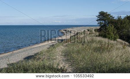 Beach At Whitefish Point