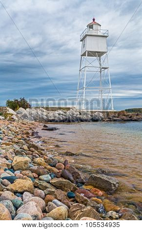Grand Marais Light And Stones