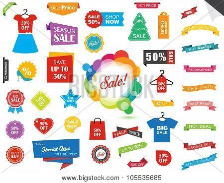Sale Label Tag Sticker Banner