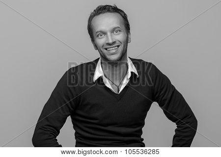 Friendly Attractive Man