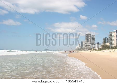 Surfers Paradise Beach In Australia