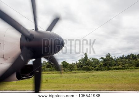 An Propeller From An Plaina