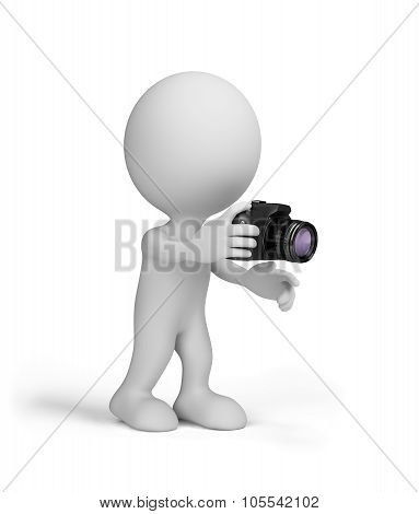 3D Man With A Camera