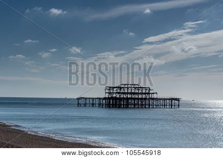 Structure of the West Pier