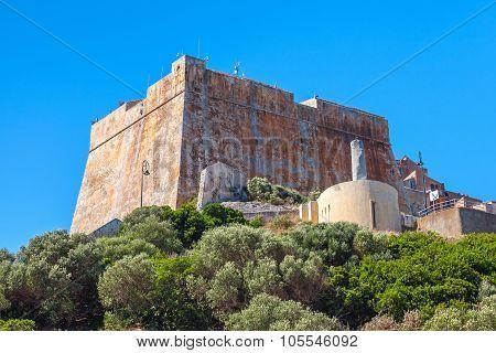 Old Citadel Of Bonifacio, Corsica, France
