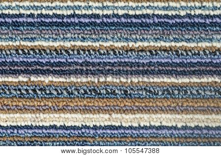 Texture Of Fabric Doormat