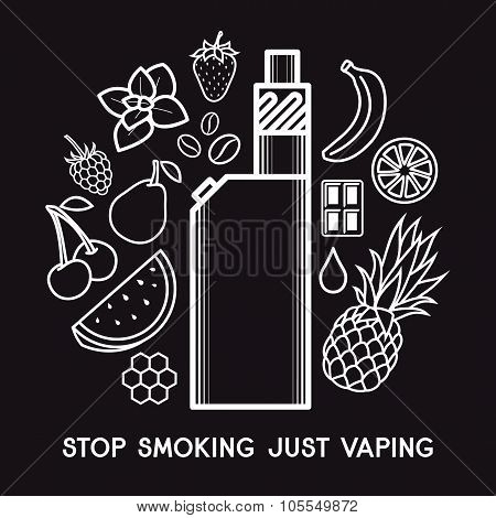 The Taste Of The Electronic Cigarette