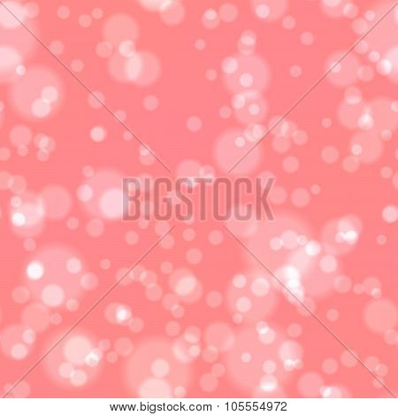 Old Pink Bokeh Seamless Pattern Texture Background