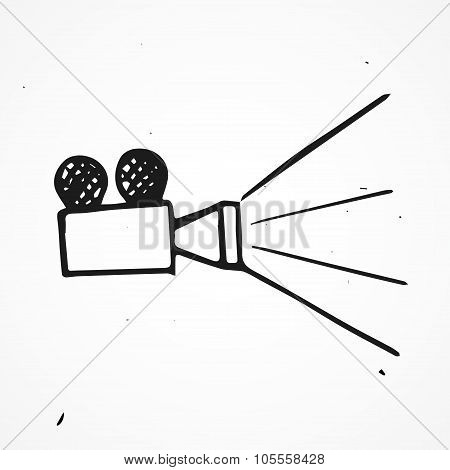 Hand Drawn Projector